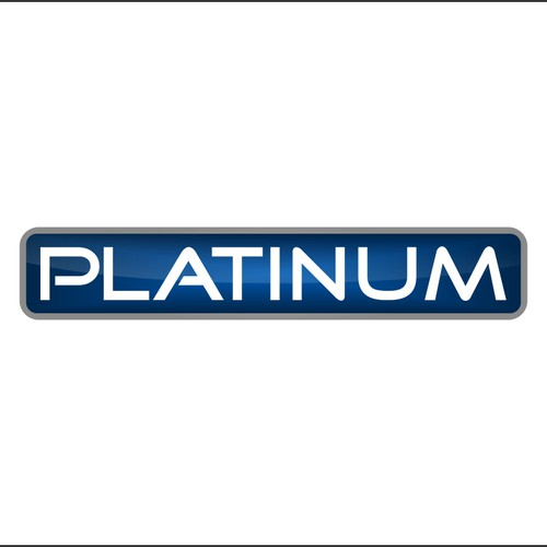 logo concept for platinum