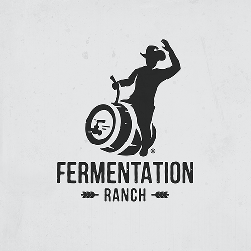 logo concept for fermentation ranch