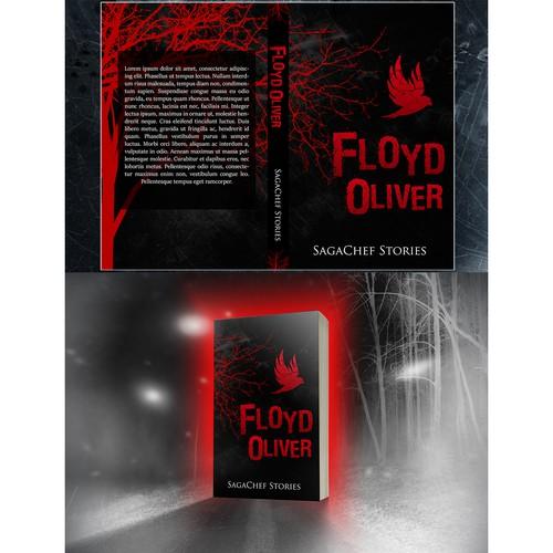 Dark Literary Serial Fiction Crime Thriller Artistic Cover .