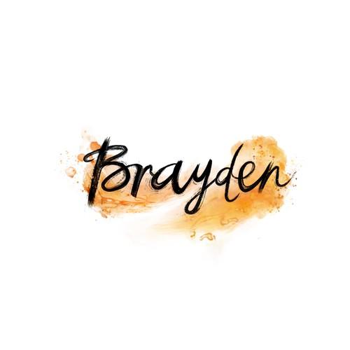 Brayden, tattoo design