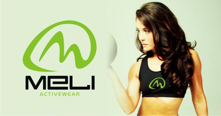 Create the next logo for MELI activewear.
