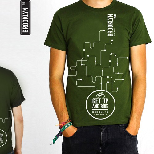Create a Brooklyn tour T-Shirt design that will be seen by hip travelers worldwide!