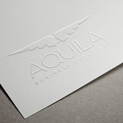 Create a logo that evokes trust, strength and success for Aquila Business Solutions