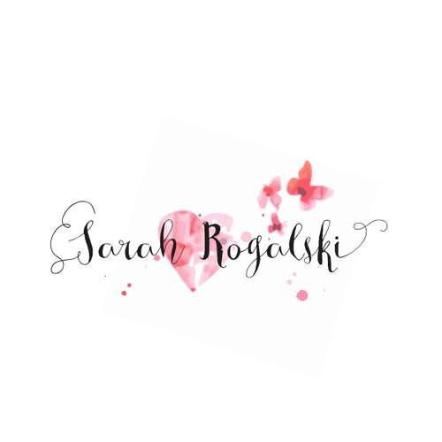 Feminine logo concept for lifestyle coach