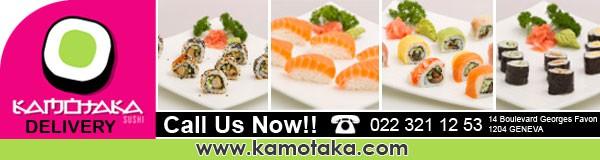 Help kamotaka sushi with a new banner ad