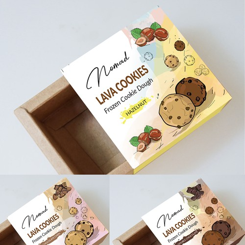 Frozen Cookies Dough package