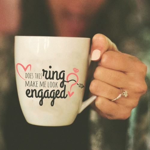 Design for engagement cup
