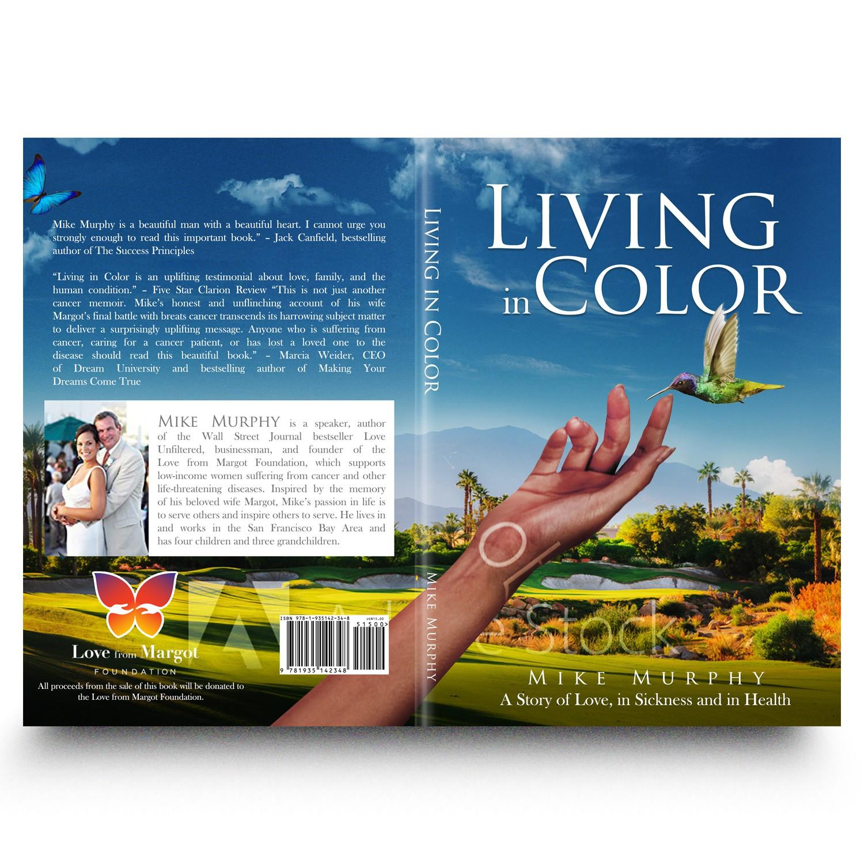 Design an amazing cover for a heartfelt memoir.