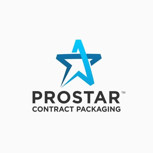 "Modern, Hip, Stylish, Bold, Smart logo for packaging company ""Prostar"""