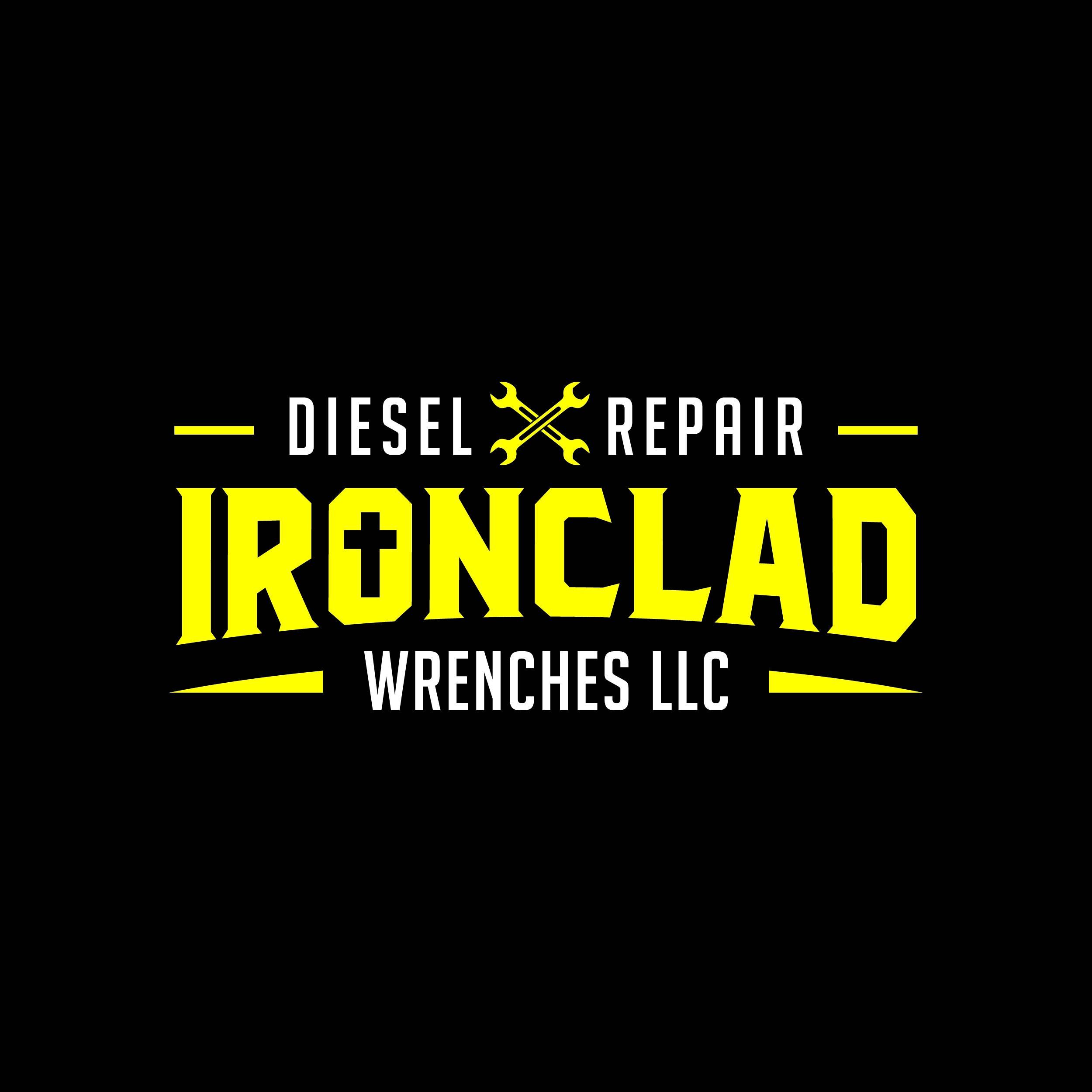 Ironclad Wrenches LLC, Diesel Repair Shop Logo