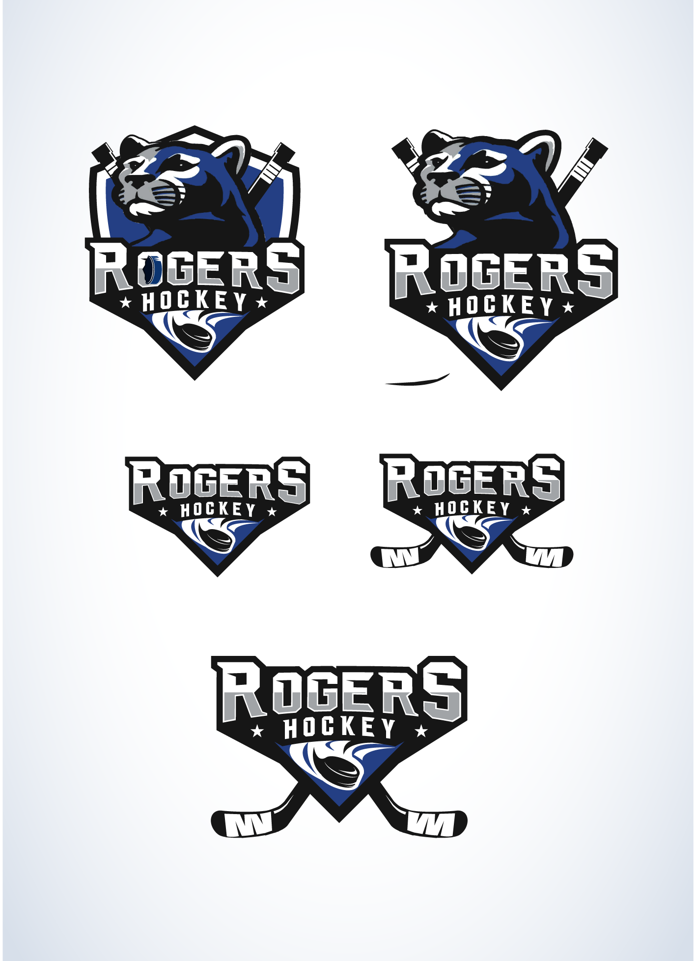 Create a logo for a youth hockey association