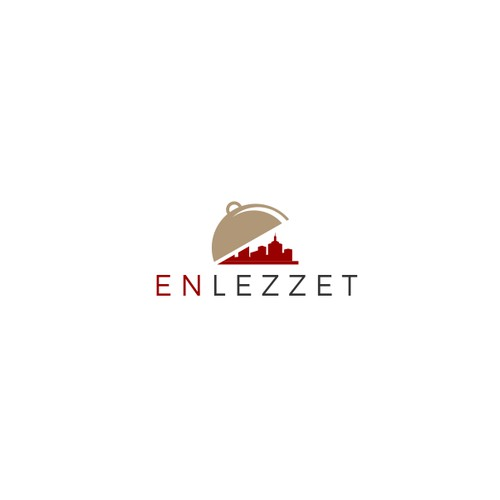 logo for  enlezzet, a search and discovery service for local restaurants and cafes