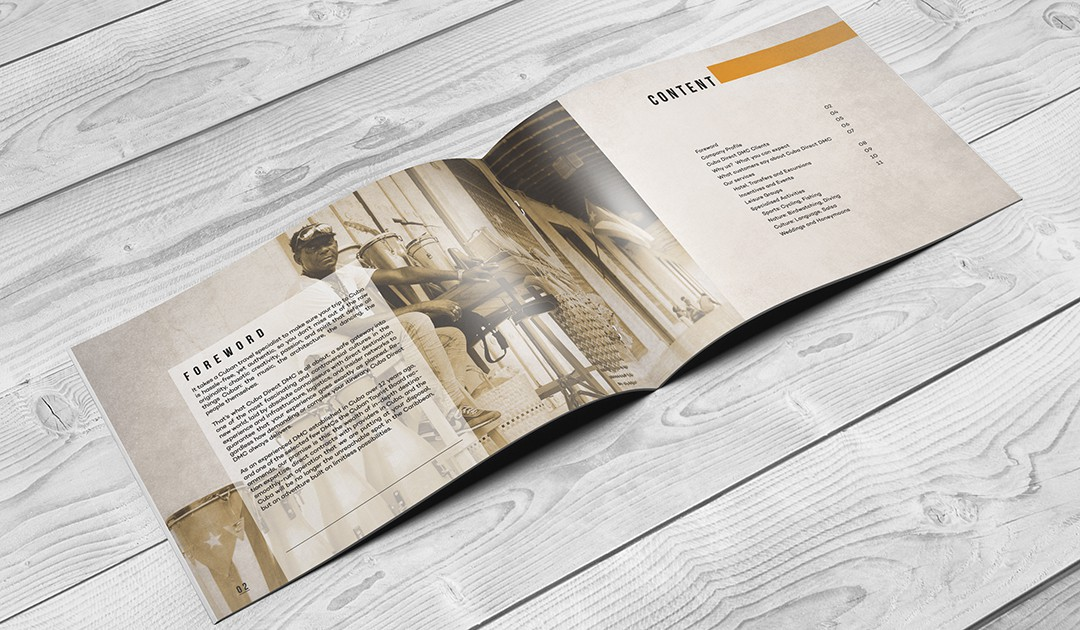 Cuba Direct Brochure - Brand & Services