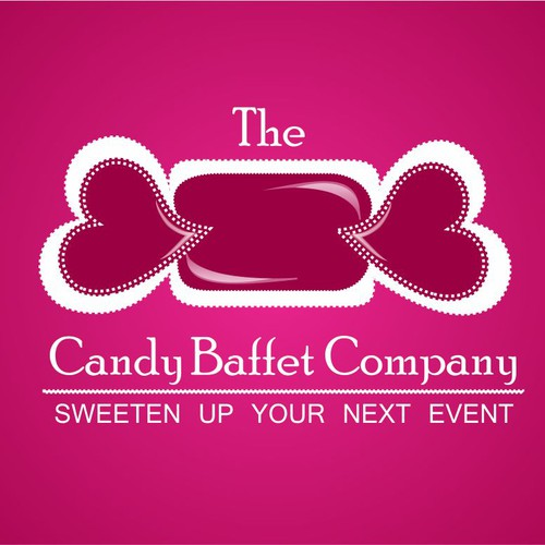 "Logo for our Candy Buffet company - think ""fashion meets candy"""
