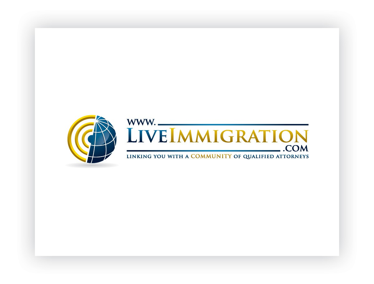 Create the next logo for www.LiveImmigration.com