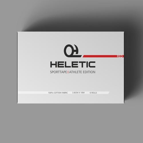 Packaging for sporttape brand
