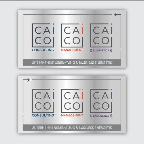 CAICO beyond consulting - company plate