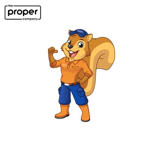 Mascot Design for The Proper Company