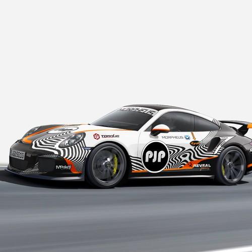 Racing Wrap Design