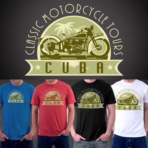 Help Classic Motorcycle Tours Cuba with a new logo