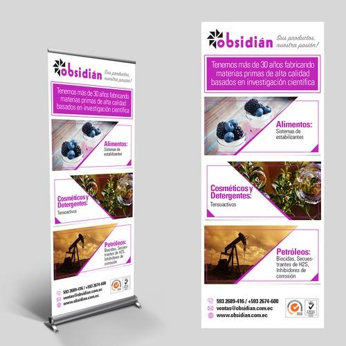 Obsidian Banner
