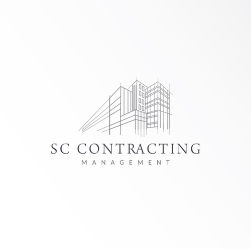Elegant logo for construction