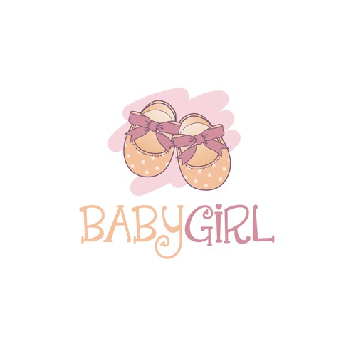 Logo for a little girls online clothing