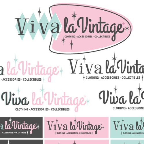 Vintage clothing Logo