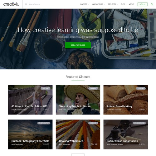 Creative Tutorials Marketplace
