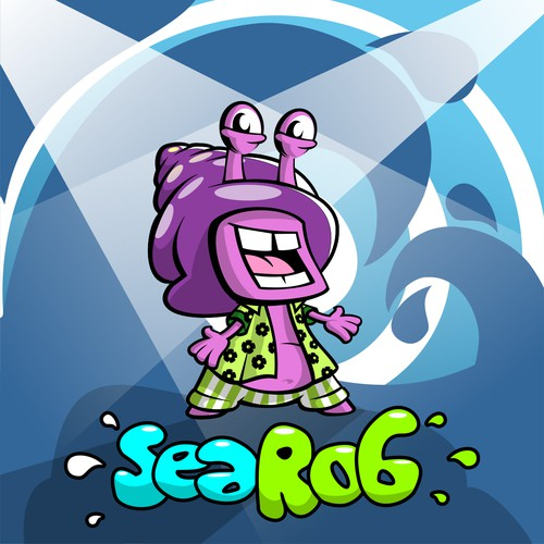 Fun logo for Sea Rob
