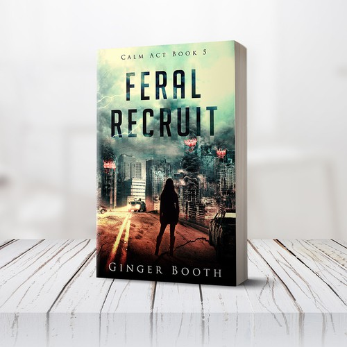 Book cover design - Feral Recruit