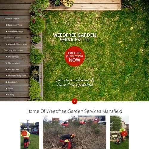 Webdesign Weedfree Garden