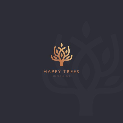 Happy Tree, Bistro and Bar Logo