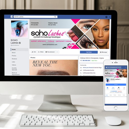 Facebook Cover for Beauty Treatment
