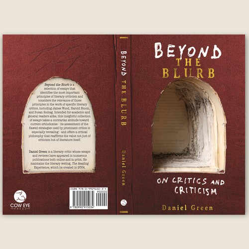 Challenging book cover for Beyond the Blurb