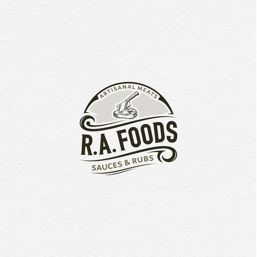 Logo Concept for RA Foods