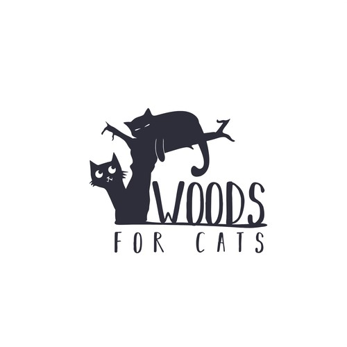 Cat Tree Logo Design