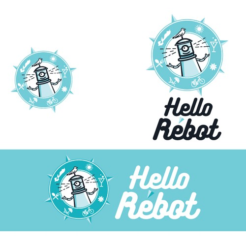 Logo for Hello Rébot