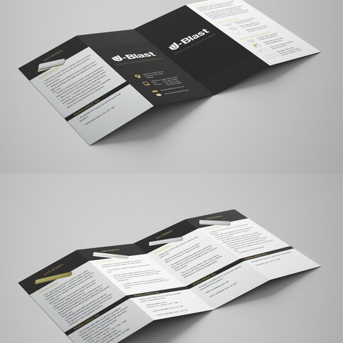 Brochure for U-Blast Stencil Ltd.