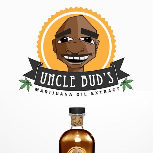 Prototype logo pour huile