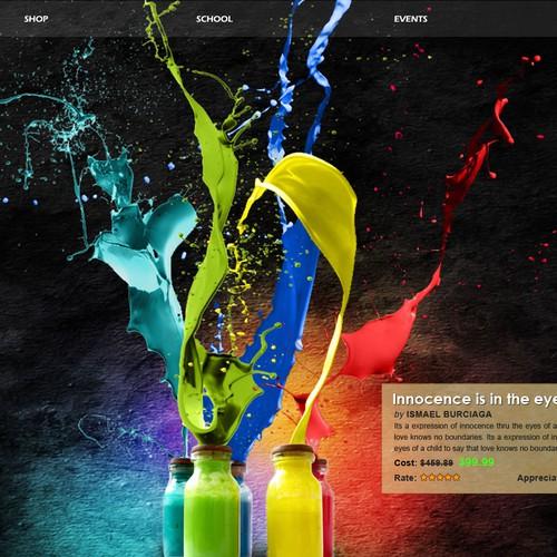 New website design wanted for artsmelange