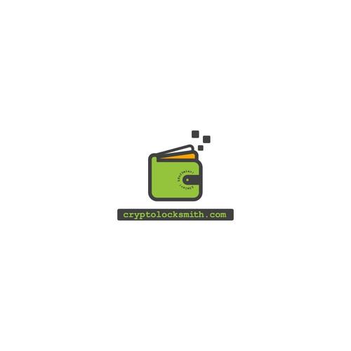 Logo Concept for Cryptolocksmith