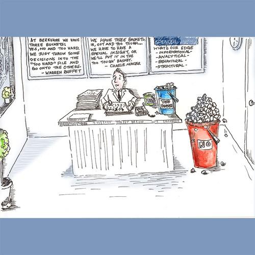 Corporate Cartoon Illustration