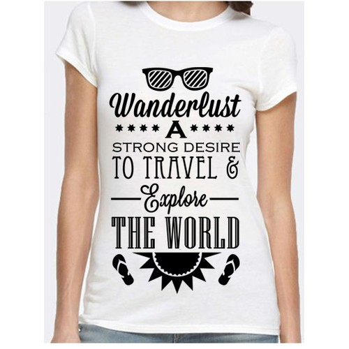 Travel Themed Tshirt Designs Needed!