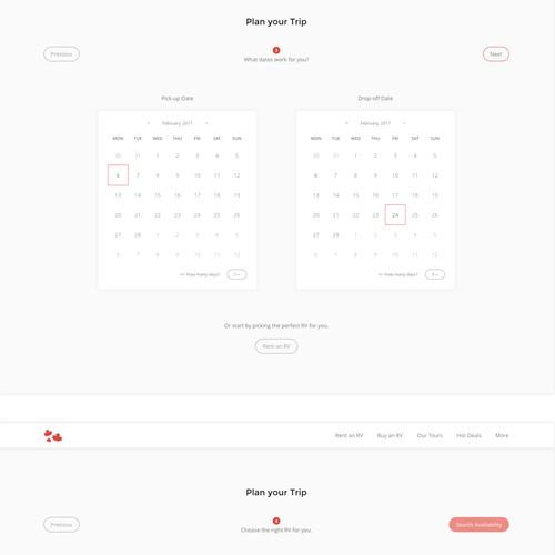 RV Rental Website Concept - Part 2