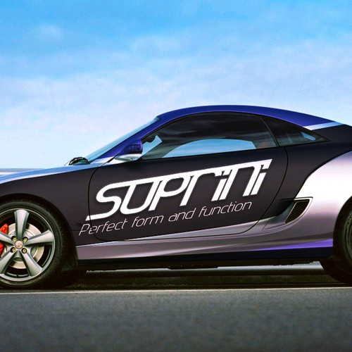Suprini Car wrap