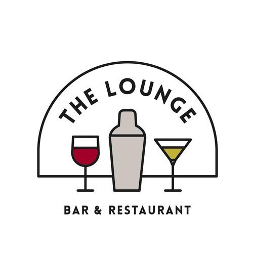Elegant bar logo