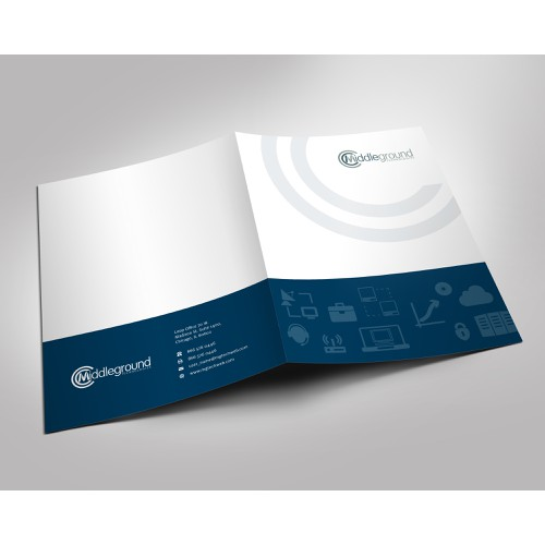 Middleground Folders & Business Cards!