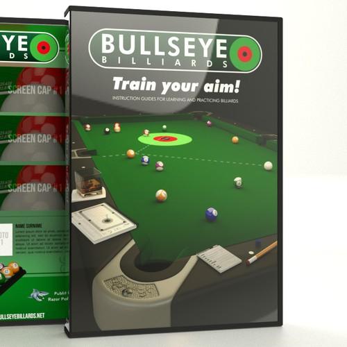 Bullseye Billard DVD cover