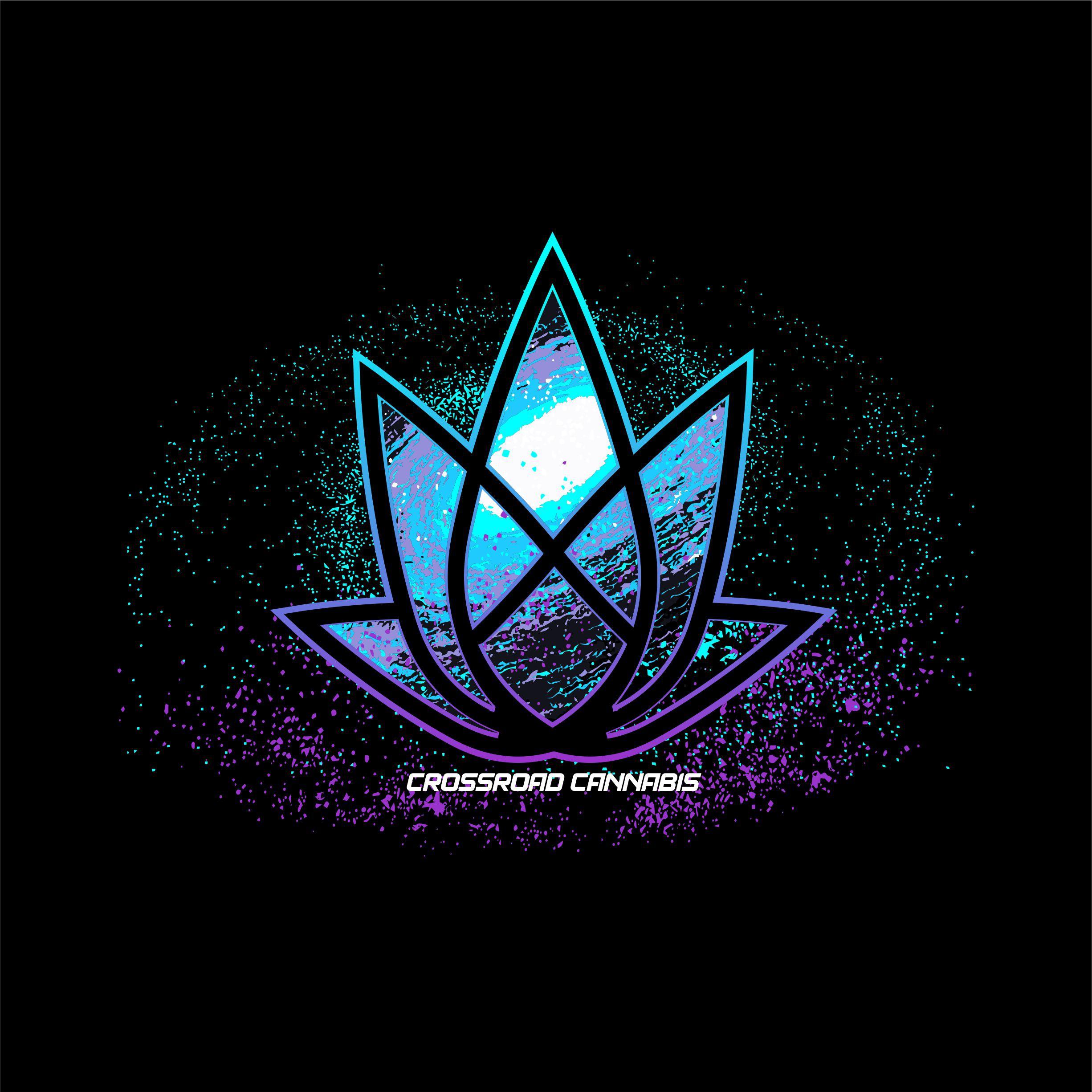 Crossroads Cannabis T-Shirt Design